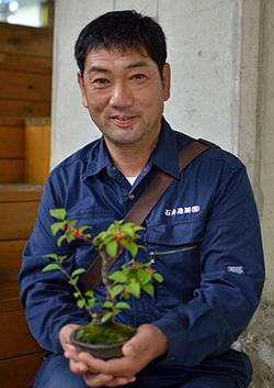石井造園株式会社 代表取締役 石井直樹さん